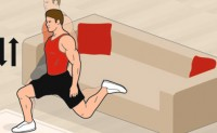 业余球员 客厅健身训练方法