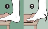 两个简单动作增强你的足部耐力