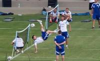 [视频]网式足球 球感锻炼最佳练习