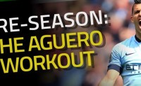 [视频]阿奎罗常用的三个健身动作