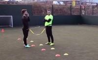 英超球员提高敏捷度和反应能力的训练小环节