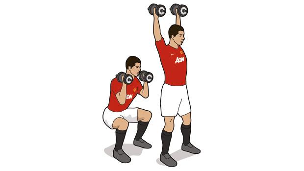曼联球员常用的实战锻炼动作